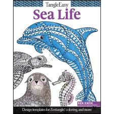Easy Sea Life Coloring Book