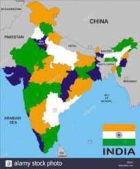 Vasco Da Gama Route Map by India Map Stock Photos U0026 India Map Stock Images Alamy