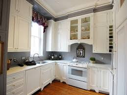 kitchen 51 black oak full height kitchen cabinet with white