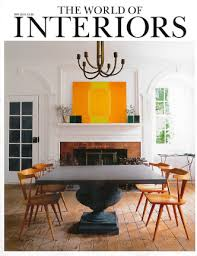 World Of Interiors Blog Quatreau Usa Featured In The World Of Interiors