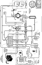 craftsman riding mower electrical diagram wiring best of lawn
