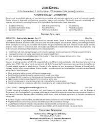 Events Manager Resume Sample by Bartender Resume Examples Berathen Com