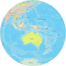 Extreme Pacific Islands Maps - Australia, New Zealand #UC45