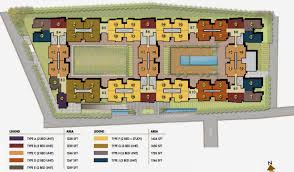 Casa Bella Floor Plan 1246 Sq Ft 2 Bhk 2t Apartment For Sale In Prestige Group Casabella