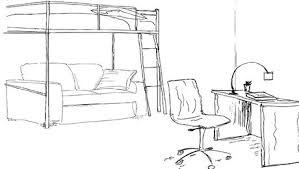 dessin chambre aménagement d une chambre d adolescent minutefacile com