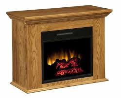 Amish Electric Fireplace Amish Handcrafted And Custom Crafted Fireplaces