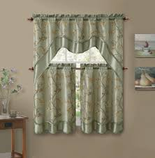 green valance curtains kitchen valance ideas target kitchen