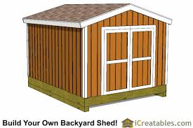 How To Build A Wood Shed Plans by 10x12 Shed Plans Building Your Own Storage Shed Icreatables