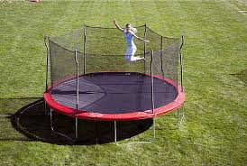 Trampoline Hanging Bed by Propel Trampolines 15 U0027 Enclosed Trampoline W Anchor Kit