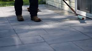 Best Sealer For Stamped Concrete Patio by Sealing Majestic Ashlar Stamped Concrete Patio Youtube