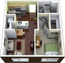 Wayne Home Floor Plans Apartments 1 Bedroom Apartment Floor Plan 3d Image Wayne Home Decor