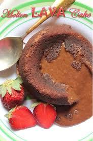 best molten lava cake recipe chocolate fondant recipe yummy tummy