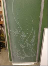 Etched Shower Doors Vintage 1950s Etched Glass Shower Door Catalog Dreaming About A