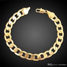 copper bracelet men images Best quality 24k ywllow gold pure copper bracelet men women jpg