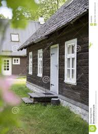 natural looking old wooden house stock photo image 56283928