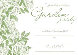 Party Invite Cards Innovative Garden Party Invitation Cards Accordingly Unusual
