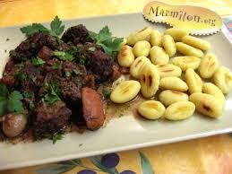 cuisiner la joue de porc marmiton boeuf bourguignon à ma façon recette recette de boeuf