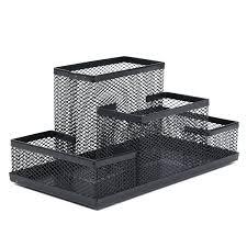 safco onyx mesh desk organizer desk silver mesh desk organizer by design ideas black mesh desk