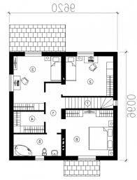 Stylish Cobb House Plans Images Three Room Map Plan Nice Black Small House Plan Map