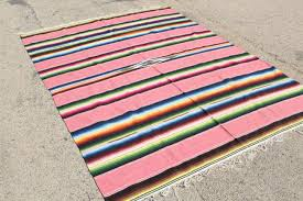 Serape Table Runner South Of The Border Mexican Pottery Blankets U0026 Rugs Painted