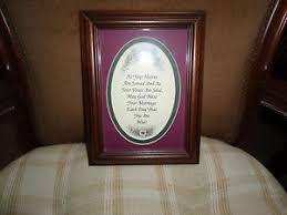 home interior inc home interior inc wedding plaque picture ebay