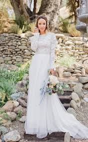 sleeved wedding dresses sleeved wedding gowns bridals dress with sleeves june bridals