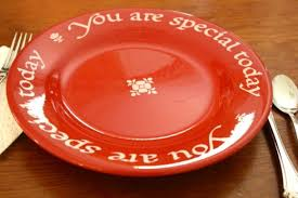 you are special today plate faith gratitude archives hodgepodge