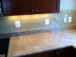 glass backsplash in kitchen kitchen trendy kitchen glass subway tile backsplash ideas of