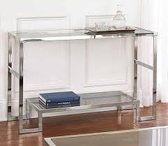 Glass Sofa Table Sofa Table Design Glass Sofa Tables Contemporary Astounding Glam