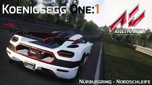 koenigsegg nurburgring koenigsegg one 1 nürburgring nordschleife assetto corsa