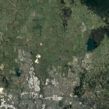 australia satellite map map of melbourne australia area and