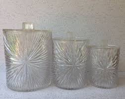 clear plastic kitchen canisters 129 best vtg kitchen clear plastic images on