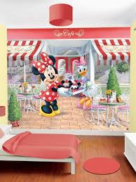 home decoration rounded pink and kids minnie mouse bedroom theme
