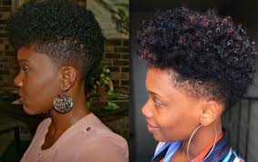 before and after fade haircuts on women black women fade haircuts to look edgy and sexy hairstyles 2017