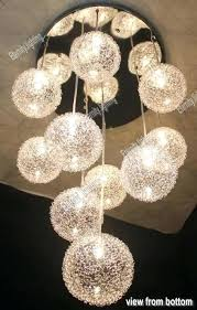 Glass Balls Chandelier Round Glass Ball Chandelier U2013 Eimat Co