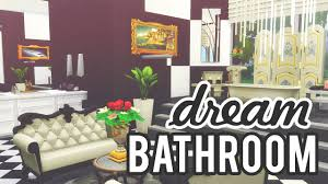 The Sims 2 Kitchen And Bath Interior Design The Sims 4 Room Build Dream Bathroom Youtube