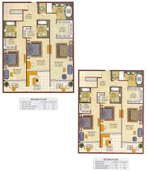 kempinski residences townhouse floor plans palm jumeirah dubai