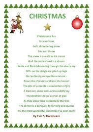 christmas day poems u2013 happy holidays