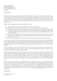 home consultant cover letter