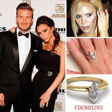 Victoria Beckham Wedding Ring by Most Memorable Celebrity Engagement Rings Of All Times