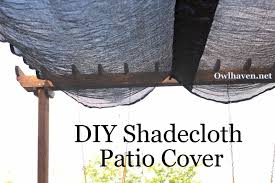 Shade Cloth For Patios How We Added Shade To Our Patio
