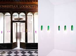 step inside christian louboutin u0027s first beauty boutique