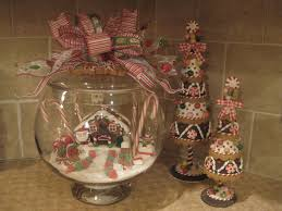 Christmas Decorating Ideas For The Kitchen by Kristen U0027s Creations Our Gingerbread Kitchen