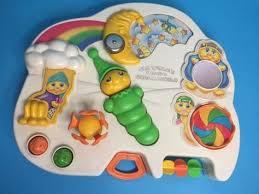 Playskool Cobblers Bench Retro 80s Playskool Glow Worm Baby Busy Activity Musical Play