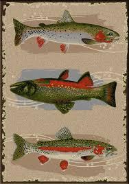 Fish Area Rugs Floor Fishing Area Rug Rustic Rugs Rustic Area Rugs Cabin