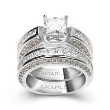 wedding ring sets bridal sets engagement wedding ring sets amarley