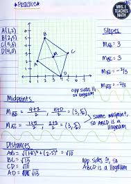 coordinate quadrilaterals inb pages mrs e teaches math