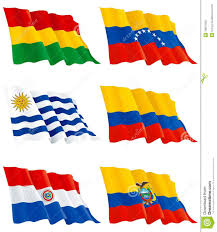 South America Flags Flags Of South America Stock Vector Image Of Uruguay 18827600