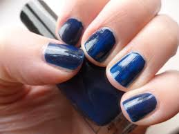 nail of the day black u0026 blue glitter u2013 chyaz