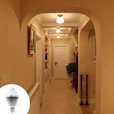 smart human induction led lamp motion sensor led light bulb smart